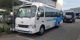 Xe khách Hyundai County thân dài 29 chổ, 2017 ghế châu âu