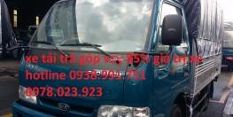 bán xe tải kia k165 trả góp, bán xe tải kia 2 ,4 tấn trả góp, bán xe tải 2 tấn 4 trả góp hỗ trợ vay 85% giá trị xe không cần chứng minh thu nhập