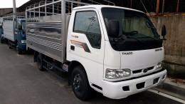 Bán xe tải kia 2t4 thùng bạt có mui, xe tải kia k165, hỗ trợ vay vôn 90%