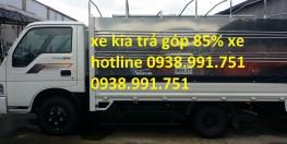 xe tải trả góp 2.4 tấn kia vay 85%, bán xe tải trả góp kia 2,4 tấn giao xe ngay, bán xe trả góp chỉ cần 70 mua xe tải kia