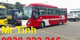 xe 29 chỗ bầu hơi thaco town tb85s mới nhất