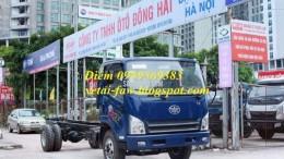 xe faw động cơ hyundai 7T3 7,3 tấn thùng 6,3m k mãi thuế 100%