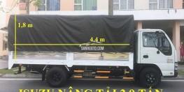 Xe tải ISUZU 1.9 tấn nâng tải 2.8 tấn QKR55H