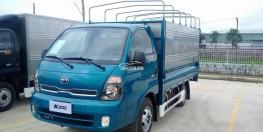 xe tải KIA THACO K200 máy điện, tải trọng 1,9 tấn, hỗ trợ trả góp 80%