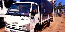 đại lý bán xe tải isuzu 3 tấn 45/ thông số kỹ thuật xe tải isuzu 3t5/ isuzu 3t49 thùng mui bạt