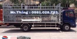 Bán xe tải Faw 7,25 tấn, xe tải Faw 7 tấn 25, thùng dài 6,3m. Gía tốt nhất thị trường. Hỗ trợ trả góp 80%. Hotline: 0981028783.