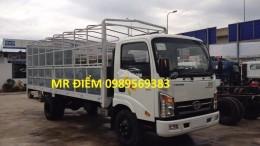 xe veam vt340s 3,5 tấn động cơ hyundai thùng 6m