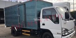 Bán xe tải Isuzu VM 3.49 thùng kín, trả góp qua ngân hàng