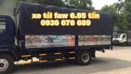 Xe tải faw 6,95 tấn,máy khỏe,thùng 5m1,cabin hiện đại,giá rẻ nhất toàn quốc