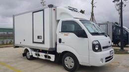 Xe tải kia k200 new 2018, xe tải Frontier k200 euro4, hỗ trợ vay vốn trả góp