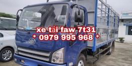 Xe tải faw 7,31 tấn thùng dài 6m25,đời mới nhất,giá rẻ nhất thị trường