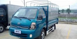 Xe tải Kia K200 tải trọng 1 tấn, máy điện Euro4 đời 2018