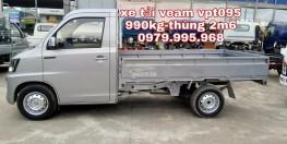 Bán xe tải Veam VPT095 tải trọng 990kg,thùng dài 2m6,đời mới,giá rẻ nhất