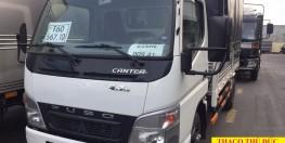 Bán xe tải nhật bản Canter 1.9 tấn, xe tải Mitsubishi 1.9 tấn thùng mui bạt