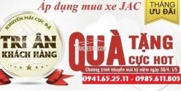 Bán xe tải JAC 6T4 giá tốt trả góp lãi suất thấp, Jac 6tấn4 trả góp