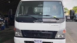 Xe tải Mitsubishi Fuso Canter 6.5 tải trọng 3 tấn 4, thùng mui bạt, đời 2017, hỗ trợ trả góp 75%
