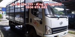 Xe tải Faw Hyundai 7,3 tấn, thùng dài 6m25,giá rẻ nhất thị trường