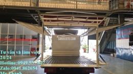 Cung cấp xe jac 990kg/1tấn2 thùng cánh dơi