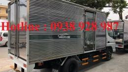 Xe tải Mitsubishi Fuso Canter 4.7, Xe tải Fuso 1 tấn 9 , Xe tải fuso thùng kín