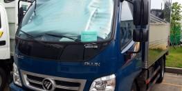 bán xe Thaco Ollin 360 máy cơ công nghệ ISUZU 2,15 tấn thùng kín 4,25m