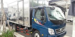 bán xe tải Thaco Ollin 360 máy cơ 2,15 tấn thùng dài 4,25m có máy lạnh cabin