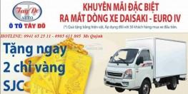Cần bán xe tải 3 tấn 5 thùng dài 3m6 DAISAKI giá cực ưu đãi| hỗ trợ trả góp 70%