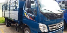 bán xe tải thaco máy cơ 7 tấn ollin 700B thùng mui bạt 6,1 tấn giá 434 triệu