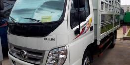 bán xe thaco 4,9 tấn ollin 500B máy lạnh cabin giá 346 triệu