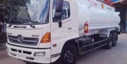 Xe bồn chở xăng dầu Hino 19 khối,Xitec Hino 3 chân 19000lit đóng theo tiêu chuẩn ĐLVN-2017