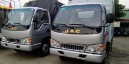 Cần bán xe Jac 2T4, màu xanh lam, nhập khẩu có hỗ trợ trả góp