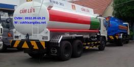 Xe bồn xăng dầu Hino 3 chân 19 khối,Xe bồn Hino 2 cầu 19,000 lít Petrolimex