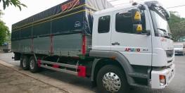Xe tải mitsubishi 3 chân 15 tấn cam kết giá tốt nhất thị trường. chỉ cần trả trước 300tr giao xe liền