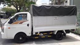 Bán xe Hyundai New Port 150 đời 2018, thùng mui bạt, tặng 100% bảo hiểm