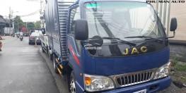 Xe tải nhẹ JAC 2.4 tấn thùng dài 3m7.