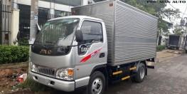 Xe tải nhẹ JAC 2t4 máy ISUZU.