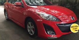 Bán Mazda3 đời 2010 màu đỏ, nk nguyên chiếc