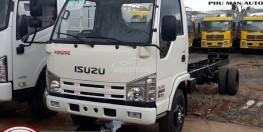 Xe tải ISUZU 1t9 thùng dài 2m6 chassi 2 lớp.