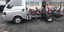 Xe tải nhẹ 1t25 động cơ dầu, mạnh mẽ trên mọi cung đường.
