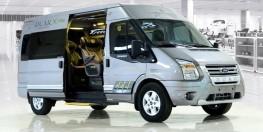 Ford Transit Dcar X - Plus đời 2018, dòng xe 10 chỗ hạng thương gia phiên bản nâng cấp