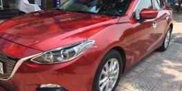 Bán Mazda 3 hatchback đời 2015 dky 2016, màu đỏ