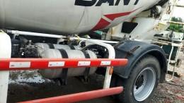 Bán xe trộn Sany bồn 6 khối, xe nhập,giá tốt