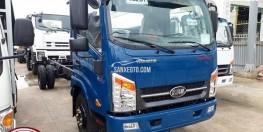 Bán xe tải 1t8 thùng dài 6m1 động cơ ISUZU.