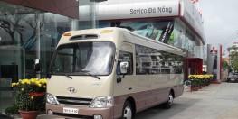 Bán xe Hyundai County L 2017, thiết kế sang trọng, phong cách Châu Âu.