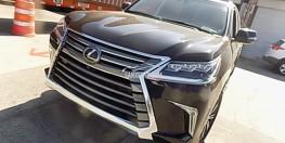 Bán Lexus LX 570 2018, màu đen, nhập khẩu