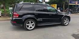 Bán xe Mercedes GL550 AMG 2010 màu đen nội thất kem ốp gỗ cao cấp
