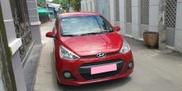 bán xe Hyundai i10 đời 2016 số sàn 5 cửa màu đỏ cực đẹp