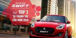 SUZUKI SWITF - TOP 3 XE THÀNH THỊ NĂM 2018