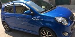 Xe Kia Morning SX 1.1 AT Sport màu xanh