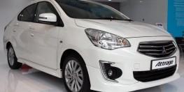 MITSUBISHI ATTRAGE , xe nhập khẩu nguyên chiếc , 4L/100km, Hỗ trợ trả góp 80% giá trị xe, LH: 0909.43.15.43 MR Vui