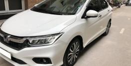 Cần bán Honda City 2017 bản Top màu trắng chạy lướt